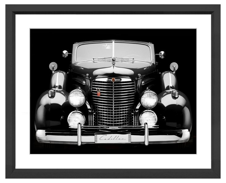 James Noble, Antique Cadillac