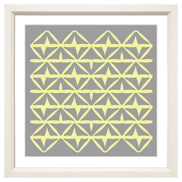 Allison Paladino, Mahalo Yellow/Gray II