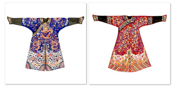 Kimonos, Set of 2