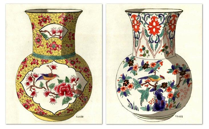Fourmaintraux Vases I, Set of 2