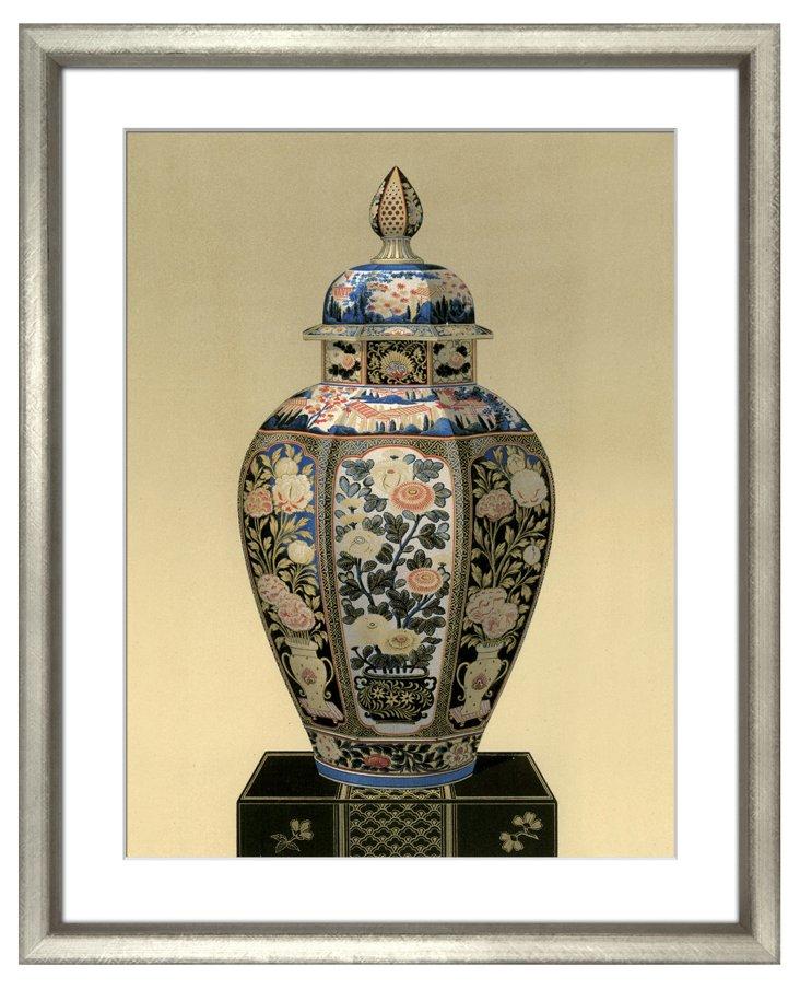 Oriental Ceramic Vase I