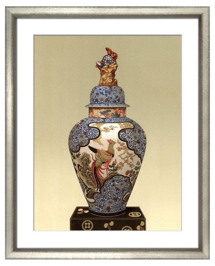 Oriental Ceramic Vase II