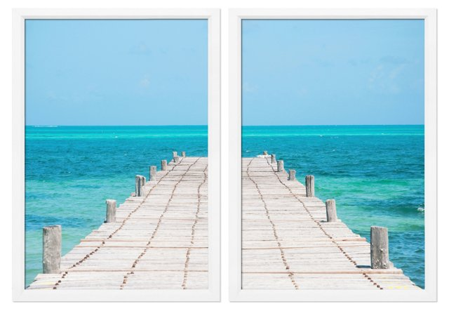 Bryan Mullennix, The Jetty Diptych