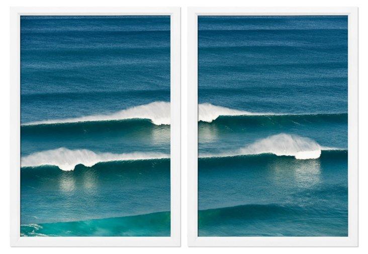 Breaking Wave Diptych