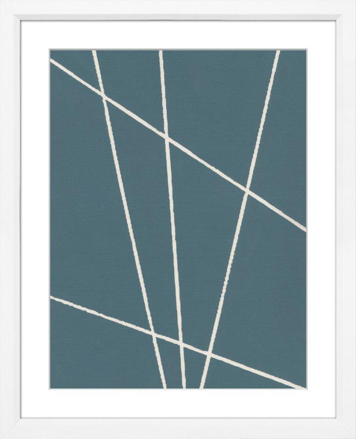 Sea Blue Abstract IV