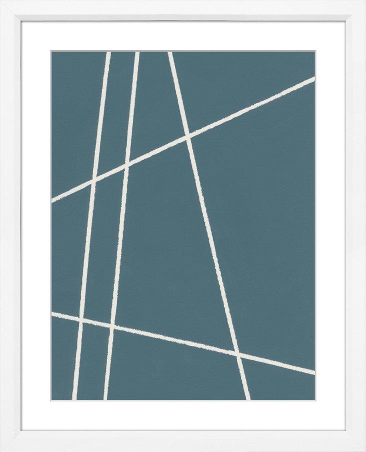 Sea Blue Abstract VI