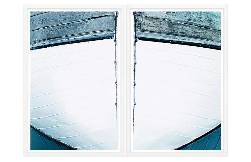 Boat Bow III Diptych - William Stafford Art
