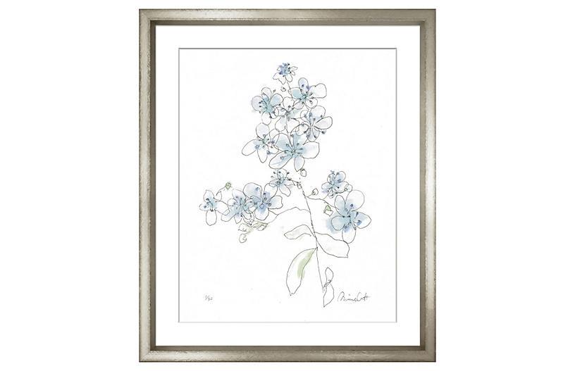 Minnie Carter, Flowers Blue II