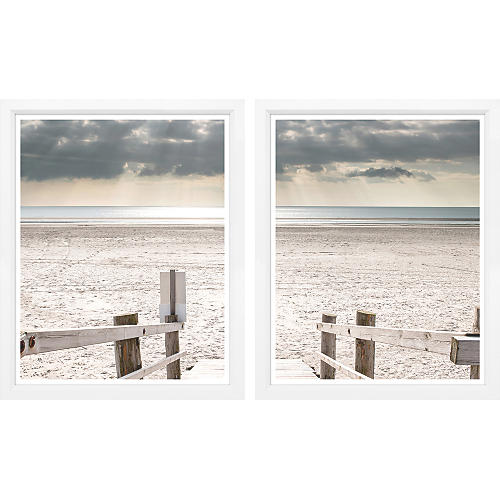 To The Beach Diptych
