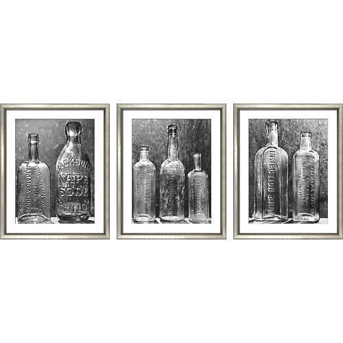 William Stafford, Vintage Bottles (3-Pc)