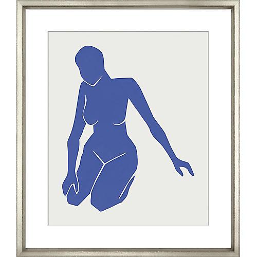 Blue Figure VI