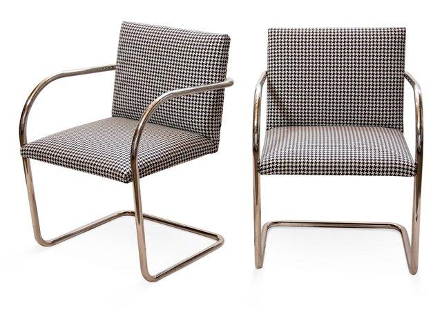 Brno Chairs, Pair