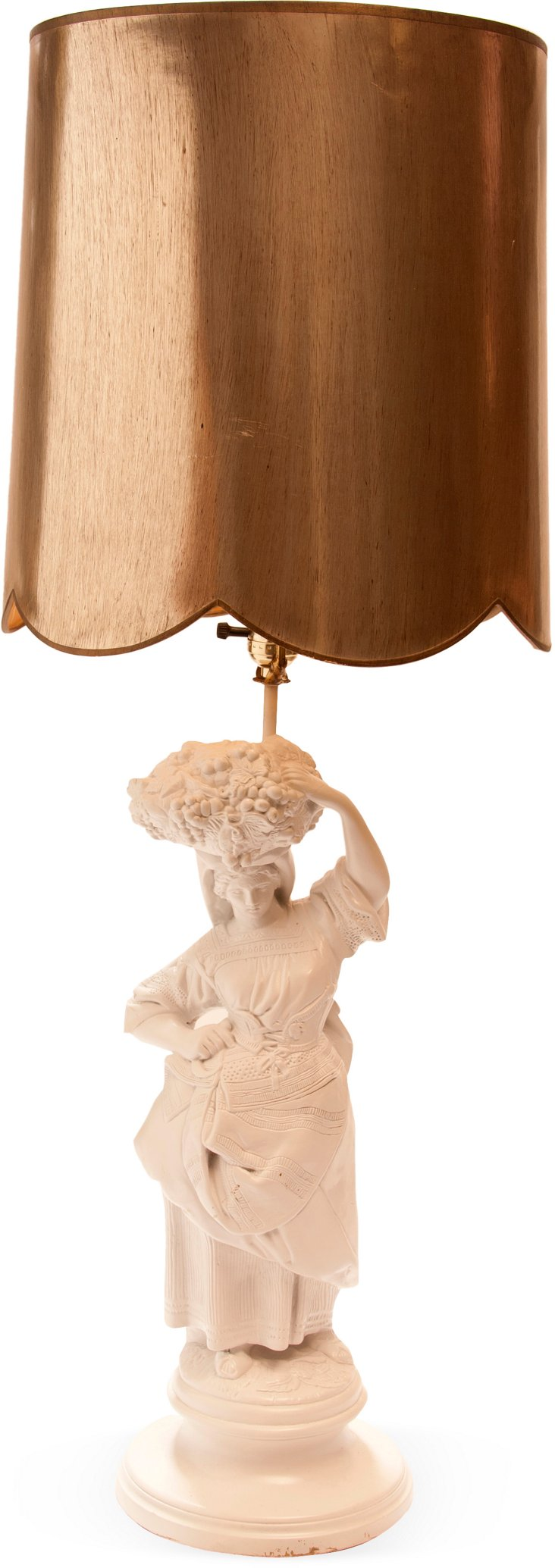 Harvest Lady Lamp