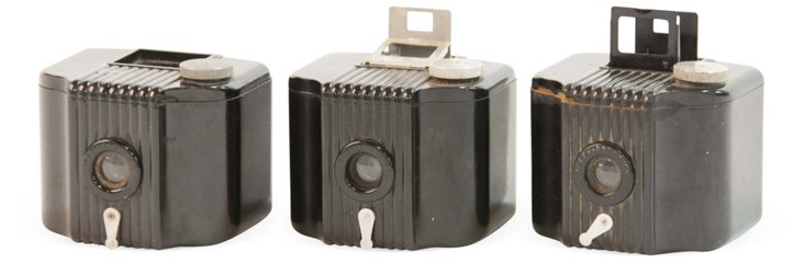 Kodak Baby Brown Cameras, Set of 3