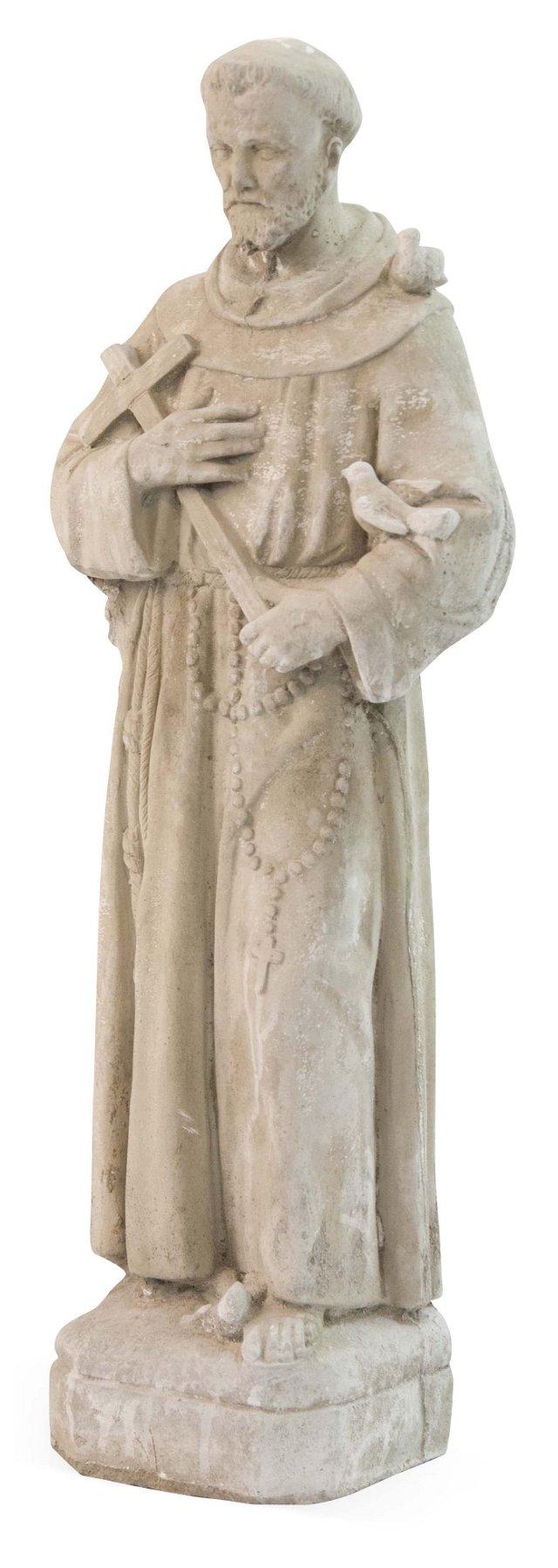 Concrete St. Francis