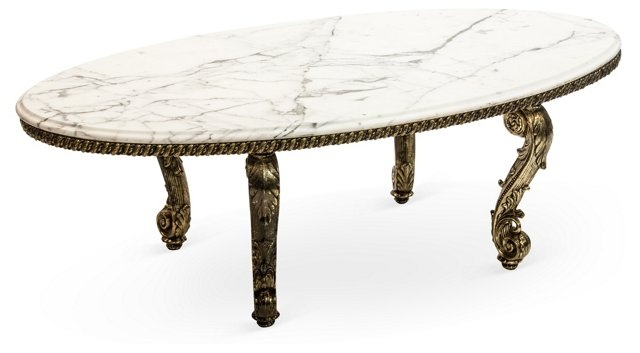 Rococo Scroll Table