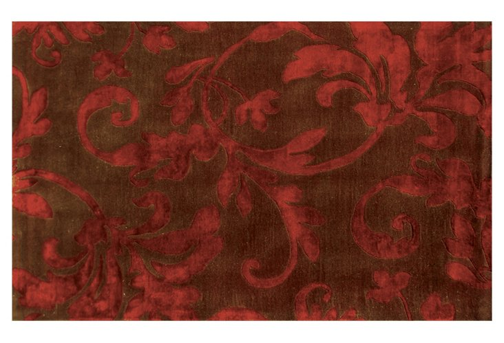 Cecilia Rug, Brown/Red