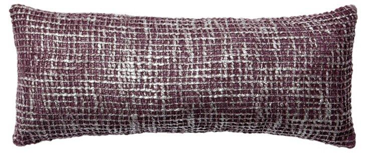 Nico 8x20 Pillow, Lavender/Silver