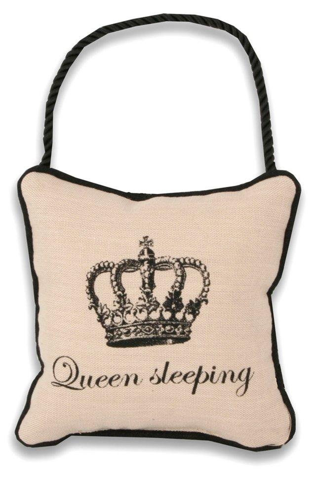 Door Hanger Pillow, King/Queen Sleeping