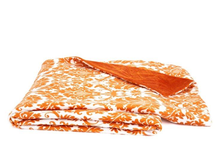 Dynasty Throw, Burnt Orange