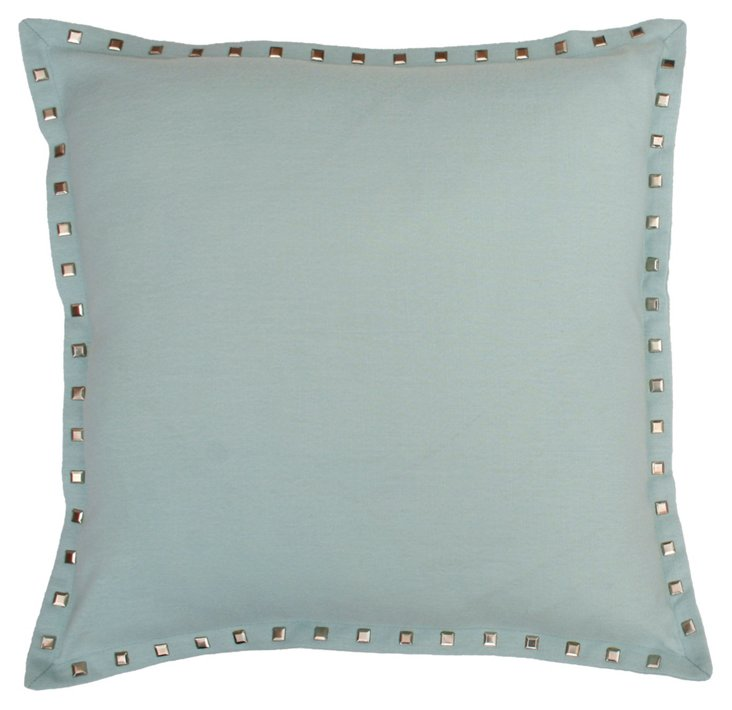 Harbor 19x19 Pillow, Light Blue