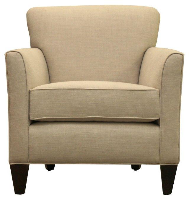 Charlotte Lounge Chair, Sand