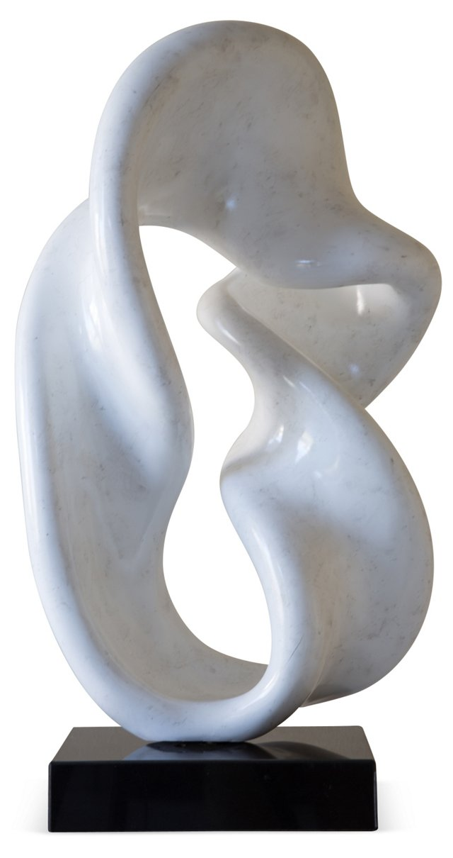 Abstract White Sculpture I