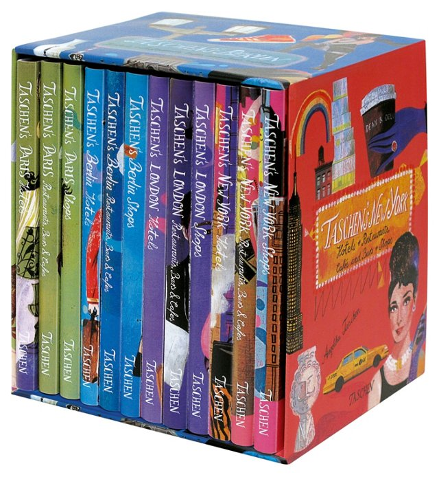 4 Cities, 12 Volumes