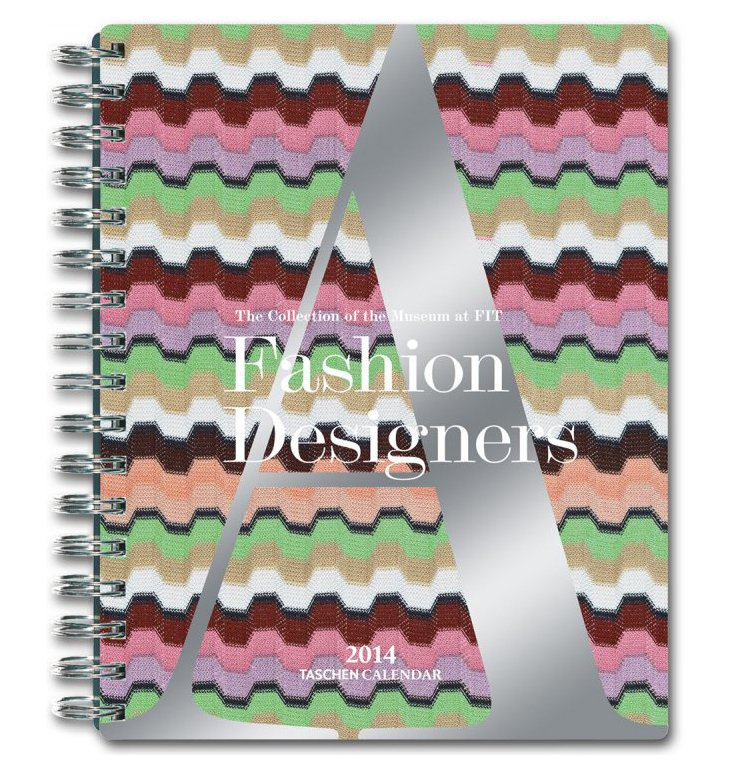 Fashion Des. A-Z Sprial Weekly Calendar