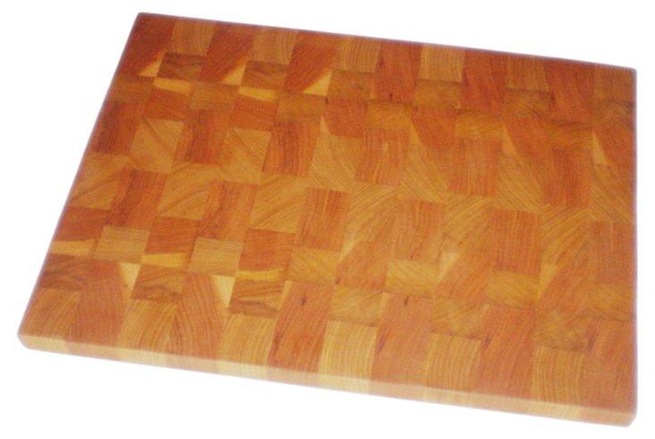 """Fox Cutting Board, 11"""" x 14"""""""