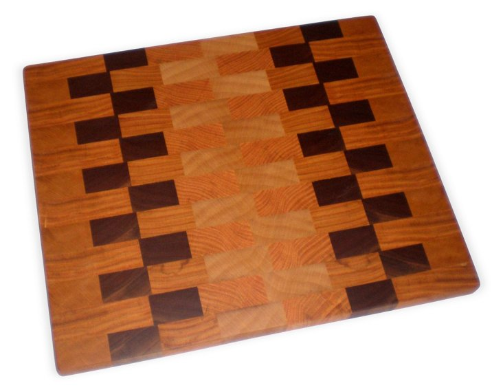 Carrier Hardwood Cutting Board