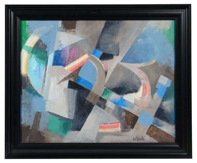 1940s Abstract, Werle