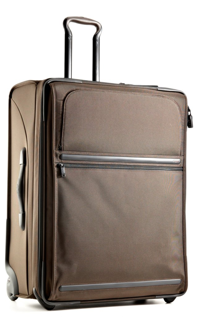 Wheeled Expandable Case, Brown