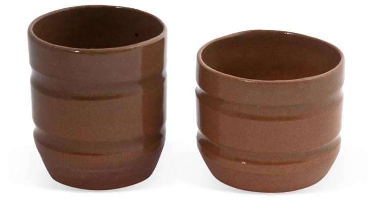 Special Knowledge Clay Cups, Pair IV