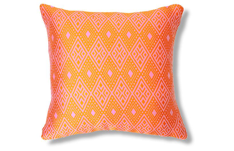 Adenium 20x20 Pillow, Rose