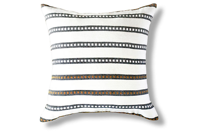 Kombolcha 20x20 Pillow, Onyx