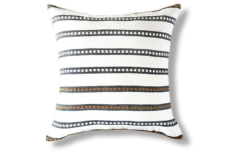 Kombolcha 20x20 Pillow, Onyx