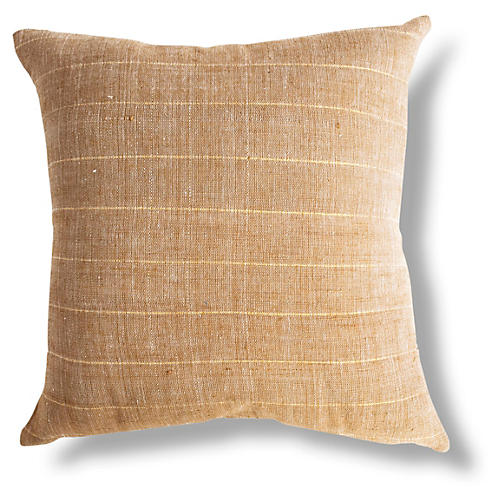 Negus 18x18 Pillow, Tan