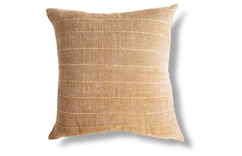 Negus 18x18 Pillow, Tan