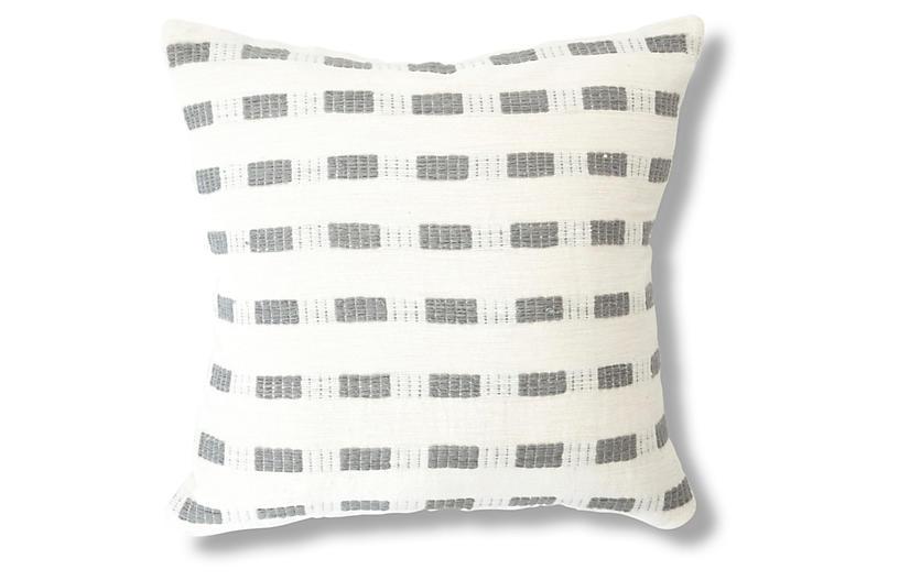 Bertu 20x20 Pillow, Gray