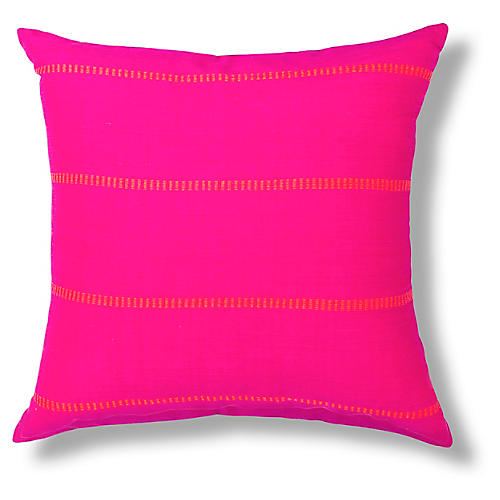 Tirisa 18x18 Pillow, Fuchsia