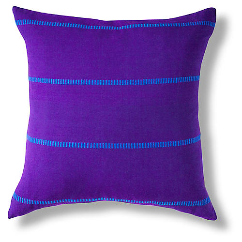Tirisa 18x18 Pillow, Cobalt