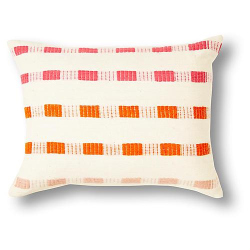 Chuchu 12x16 Pillow, Pink Ombré