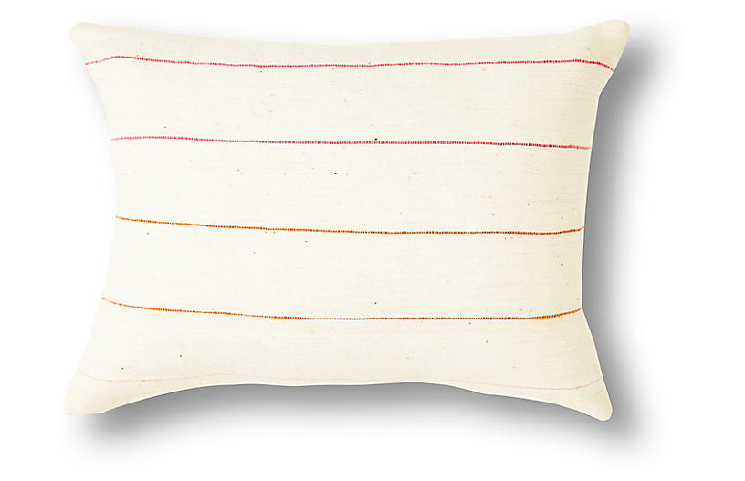 Lili 12x16 Pillow, Pink Ombré