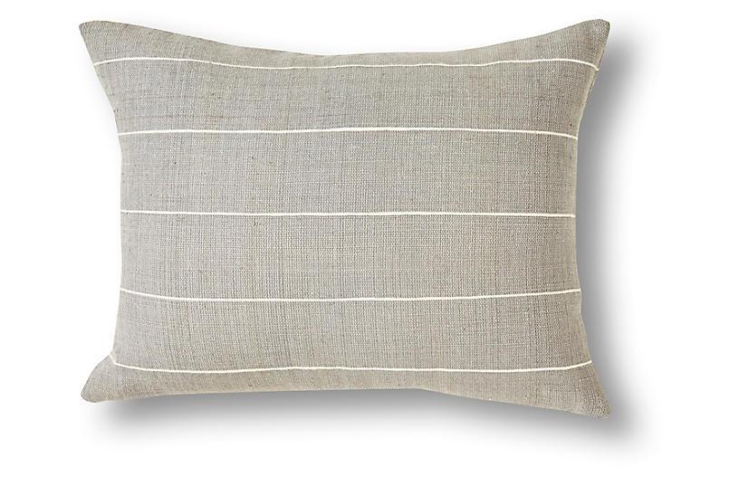 Melkam 12x16 Pillow, Gray