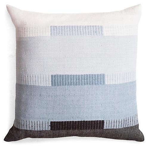 Bale 18x18 Pillow, Mist