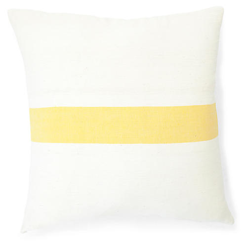 Calla Lily 20x20 Pillow, Sunflower