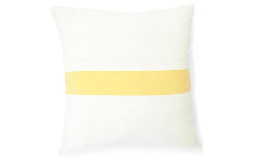Calla Lily 20x20 Pillow, Sunflower