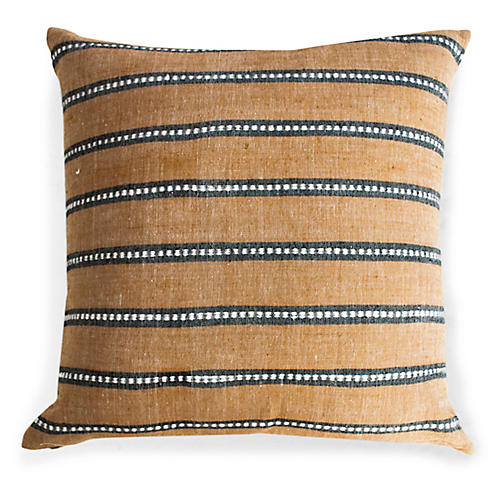Kombolcha 20x20 Pillow, Tan