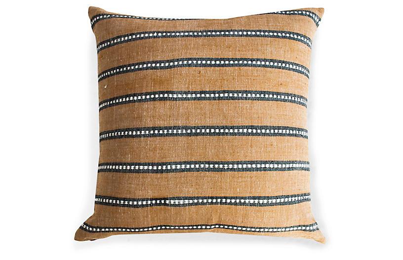 Kombolcha 20x20 Pillow, Tan